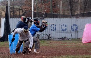 Use paintball to hone your survival skills