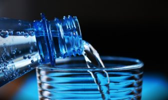 Sanitizing containers for long-term water storage