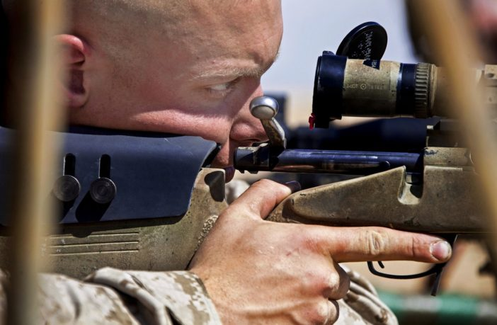 How to avoid being shot by a sniper
