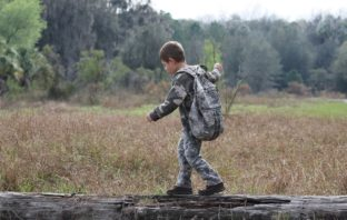 Teaching your kids wilderness skills