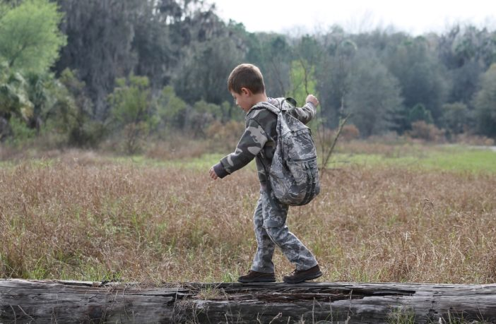 Teaching your kids wilderness skills