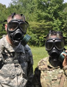 Don't fall victim to a chemical attack